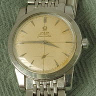 Omega Seamaster c 1954 with original steel bracelet