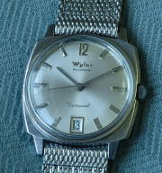 Wyler Incaflex Dynawind 60's old automatic watch