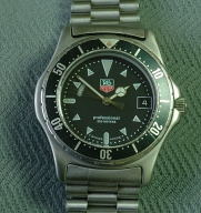Tag Heuer Professional 200 meters dive watch