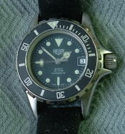 Lady Heuer 200 meters professional diving watch - quartz