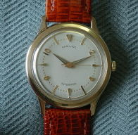Hamilton automatic 14K gold Thin-matic