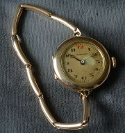 Antique 14K gold Niagara women's watch circa 1915