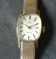 Omega Geneve mechanical woman's watch c 1973