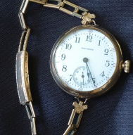 Waltham Transitional watch 32 mm circa 1909 vintage