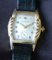 Unusual 1956 Bulova Watch Co. 17 jewel manual wind