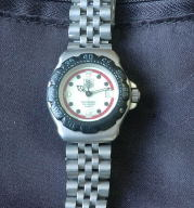 Tag-Heuer quartz 200 meters -lady