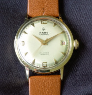 Rado automatic 14K gold 25 years of service watch