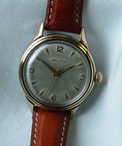 Movado manual wind gold capped circa 50/60's