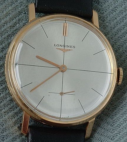 Vintage Longines 18K Rose Gold