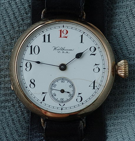 Waltham transitional watch circa 1914