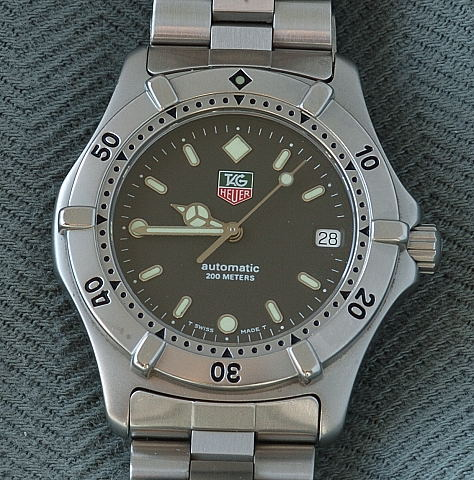 A trebor 39 s vintage watches page 14 for Tag heuer divers watch