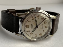 Fellow Incabloc 40/50's vintage military wristwatch