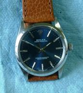 Rolex Oyster Perpetual Blue dial c1967
