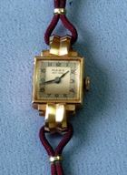 Maba Rose Gold Retro lady's watch circa 1945