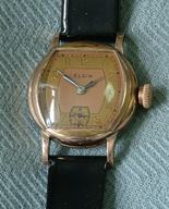 Elgin Antique 20's vintage big crown wristwatch