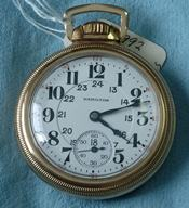 Hamilton 992 21J Railway watch circa 1929