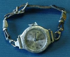 Antique lady watch circa 1920 with original band