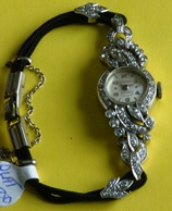 Birks Eterna Platinum and diamond antique lady watch