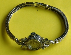 White gold and diamond Westbury petite vintage ladies watch