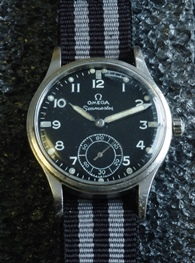 Omega W.W.W. British military watch