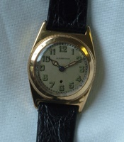 Rare 18K Harwood - world's 1st Automatic watch c1920's