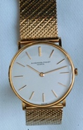 Audemars Piguet 18k slim presentation watch 1961 vintage