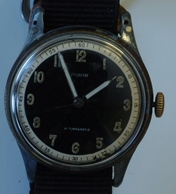 Vintage Inxor military fixed lug - great original dial!