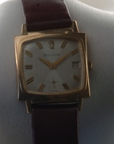 1966 Bulova manual wind - quadrant dial