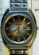 Orient Three star Day/Date 21 Jewel Automatic circa late 70's