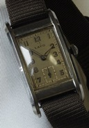 Laco Art Deco - German made 1930's vintage manual wind