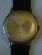 Winter's dress watch with super thin Peseux 320 movement