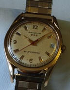 Benrus Three Star Self-winding 60's vintage