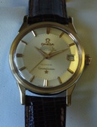 Omega Türler Constellation - gold capped pie-pan