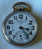 Elgin B. W. Raymond Railroad watch - 1954