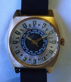 Westbury World Time Watch - German made c1970