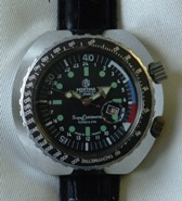 Mortima Super Datomatic 1970's dive watch