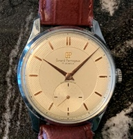 Girard-Perregaux Antimagnetic c 1950 -textured dial