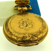 Small Waltham Hunter case pocket/pendant watch c1907