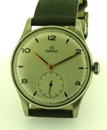 Big Rare 37 mm 1947 Vintage Omega manual wind