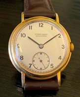 3/4 size Ulysse Nardin 18K fixed bar circa 30/40's
