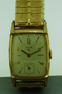 Elgin tank case watch 1950 vintage