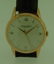 International Watch Co Schaffhausen 18K gold circa 1950's