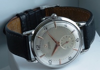 Rare 37 mm oversized vintage Omega Bumper Automatic c1947