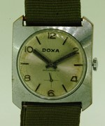 Doxa square winder - freshly serviced