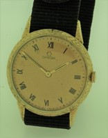 Omega 14K gold manual winder circa 1954