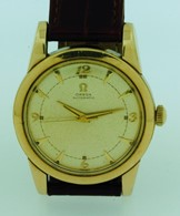 Vintage gold capped Omega bumper Automatic circa 1950