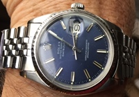ROLEX Oyster Perpetual DATEJUST CIRCA 1968 w box and papers