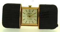 Mappin's Convertible  Travel  clock/purse watch with sliding case circa 1955