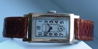 Wittnauer tank case watch 1940's vintage