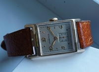 Longines Tank case watch - 1949 vintage